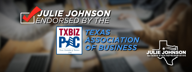 Texas Association of Business PAC Endorses Julie Johnson